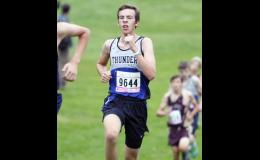 Austin Gohman posted a personal season best time of 19:58.04 at the Milaca Mega Meet.