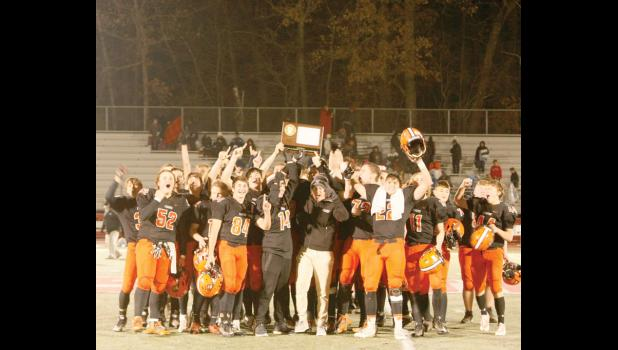 The Browerville Tigers will head to the state football tournament after clinching the Section 4A Championship.
