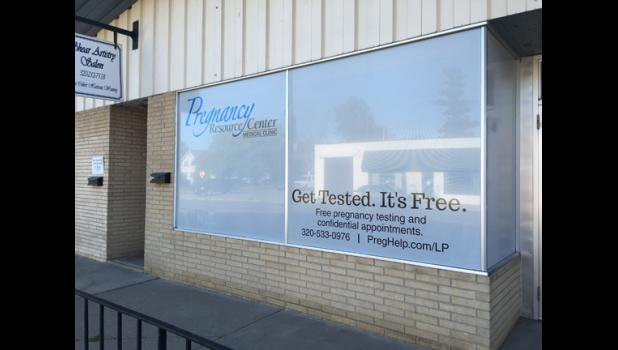 The Pregnancy Resource Center in Long Prairie is located right downtown on 2nd Street. The center opened Sept. 15.