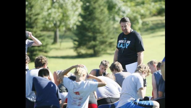 Brad Evenson takes over as head coach of the Thunder and believes the summer program continues to have the players a step ahead of past years.