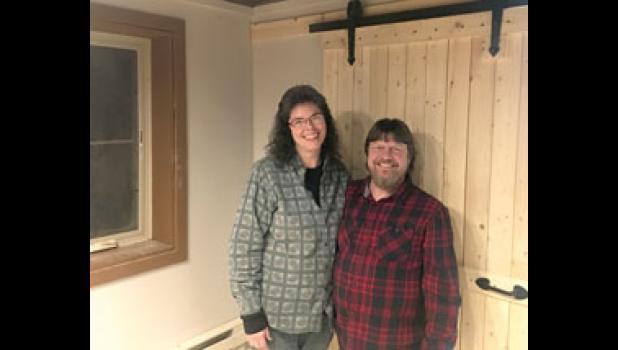 Jennifer and Tim Poland recently opened Leaning Silo Folk and Homestead School in rural Swanville. The first folk art class will be held there on Feb. 10.