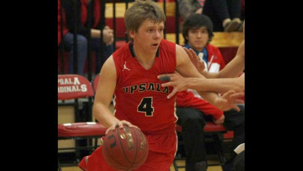 Senior Myron Ripplinger is Upsala's top returning starter and will continue to play point guard for the team in 2016-17.