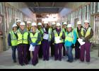 CentraCare staff recently toured the new medical campus.