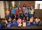 The Long Prairie-Grey Eagle Elementary students of the month for September.