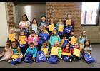 The Long Prairie-Grey Eagle Elementary School September students of the month.