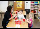 LPGE will stick with three sections of kindergarten. The same as it started the school year with.