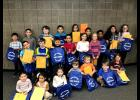 The Long Prairie-Grey Eagle Elementary School students of the month for December.