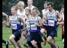Cameron Larson (L), Ted Stacey (M), and Austin Gohman (R) are expected to be the top three runners for the Thunder boys this fall.