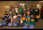 The Long Prairie-Grey Eagle students of the month for November.
