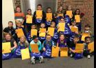 The Long Prairie-Grey Eagle Elementary School recently selected its October Students of the Month.