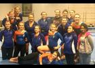The Wolves gymnasts put up a season best in their final dual meet of the season last Tuesday.